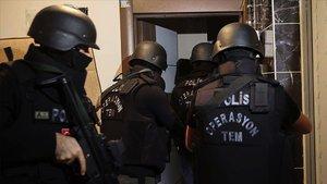 İstanbul'da terör örgütü DEAŞ'a operasyon: 8 gözaltı