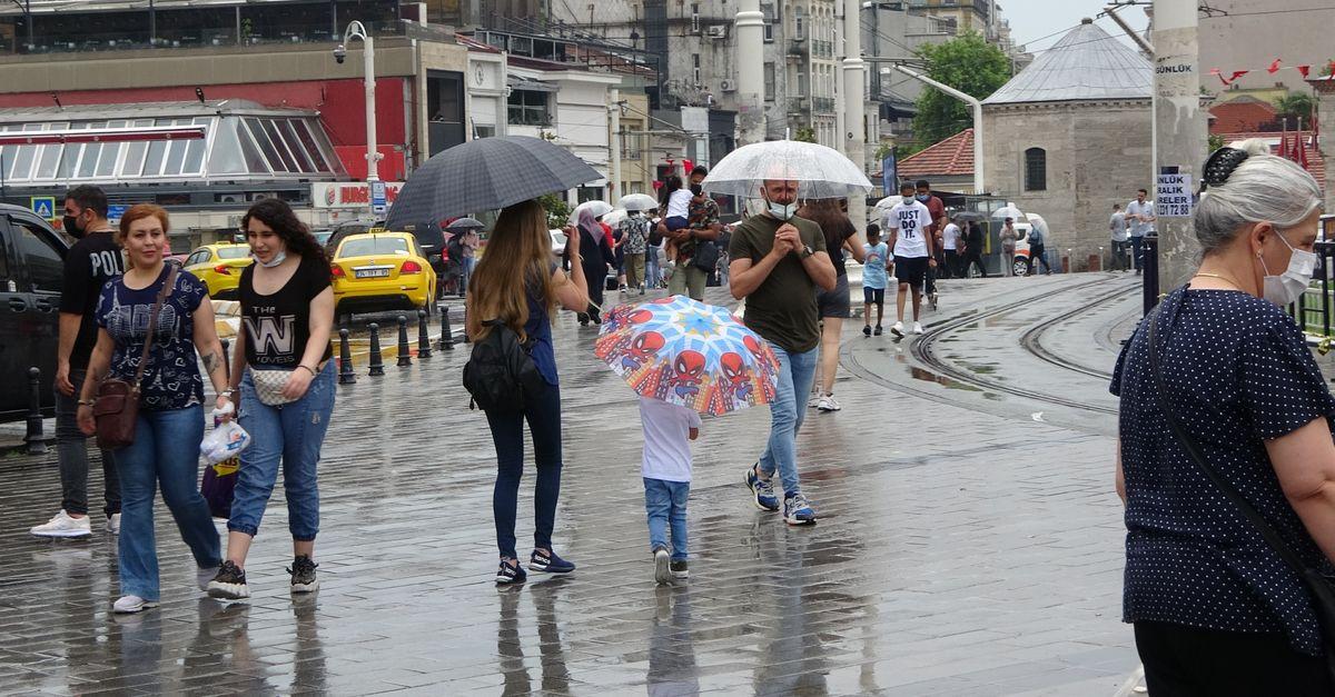 İstanbul Valiliği'nden sel ve dolu uyarısı!