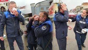 İzmir'de zabıtalara demir sopalı dayak