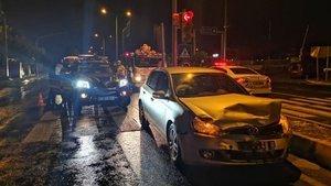 Jandarma otosu otomobille çarpıştı: Yaralılar var