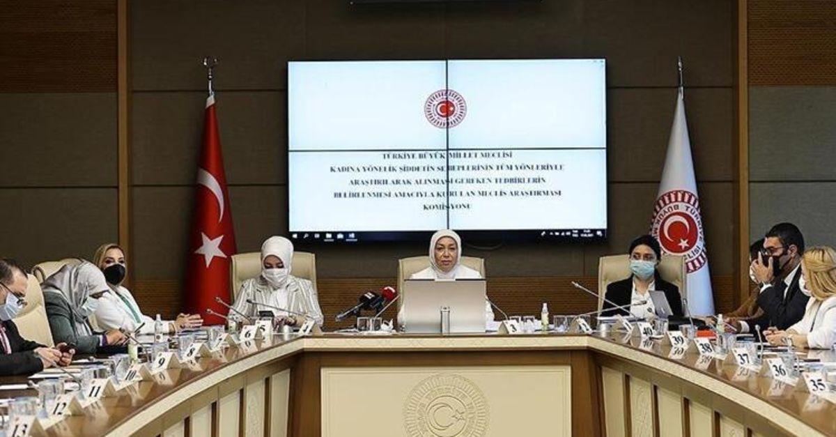 Kadına Şiddetin Araştırılması Komisyonunun görev süresi uzatıldı