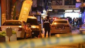 Kağıthane'de silahlı kavga: 2'si ağır 3 yaralı