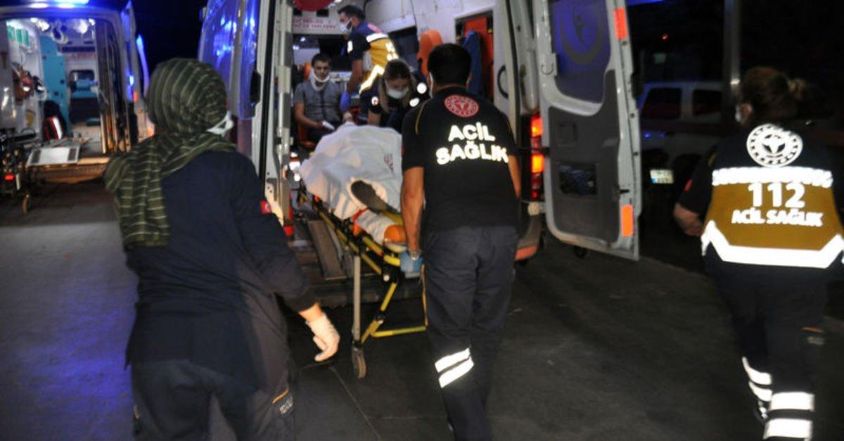 Karaman'da trafik kazası: 1'i ağır 5 yaralı