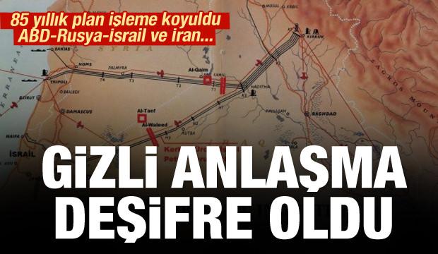 Kerkük petrolü İsrail'e akacak