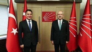 Kılıçdaroğlu ile Babacan bir araya geldi
