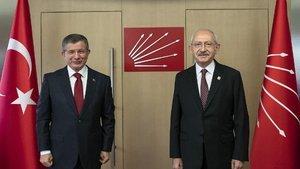 Kılıçdaroğlu ile Davutoğlu'ndan sistem görüşmesi