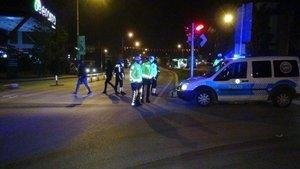 Kısıtlamaya 10 dakika kala polis yetişti