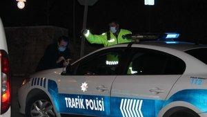 Kısıtlamayı ihlal eden sürücüye ceza yağdı