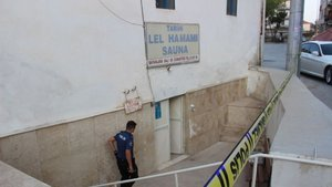 Kız arkadaşıyla girdiği saunada uyuya kalan hamamcı öldü