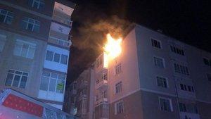 Konya'da feci yangın: Anne-kız yaşamını yitirdi