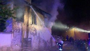 Konya'da yangın faciası: 3 çocuk hayatını kaybetti