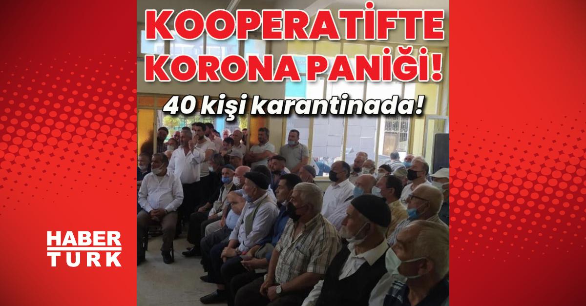 Kooperatif kongresinde korona paniği!