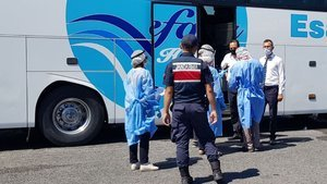 Koronavirüslü kişi, yolcu otobüsünde yakalandı