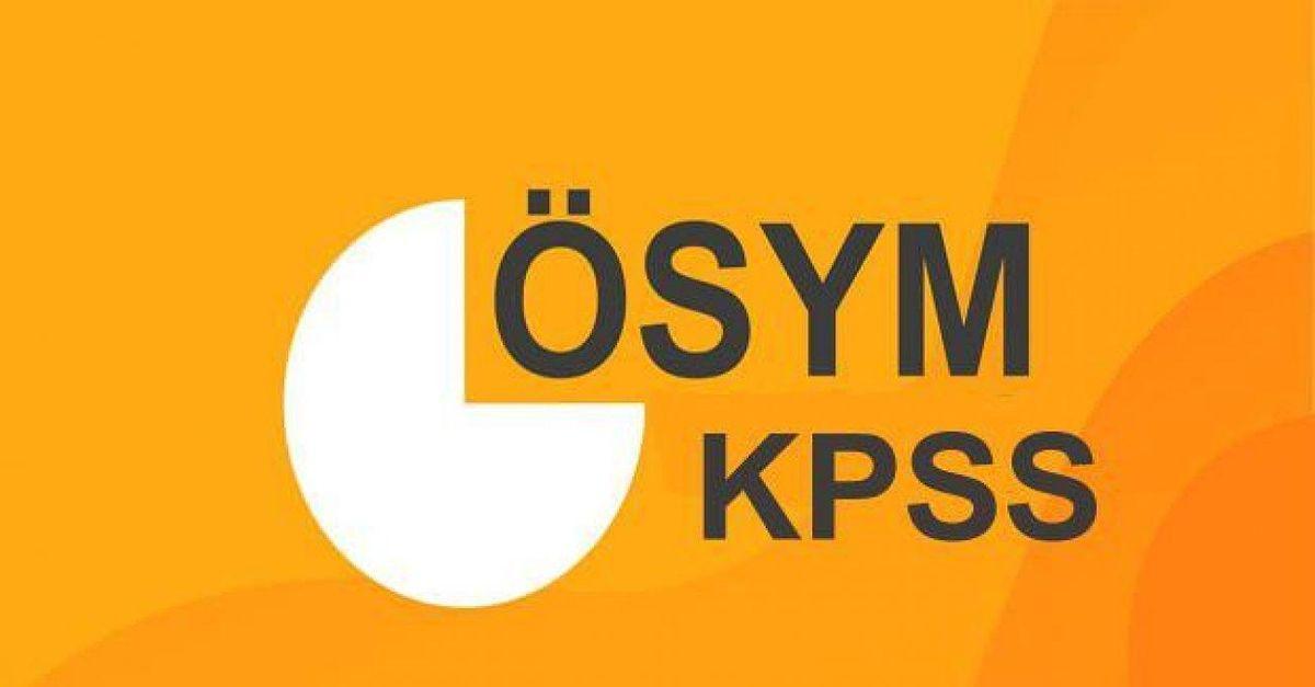 KPSS sınav giriş yerleri belli oldu mu?