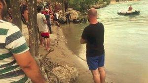 Manavgat'ta ırmağa giren kişi boğuldu