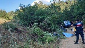Manisa'da traktör devrildi: 1 ölü, 2 yaralı