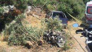 Marmaris'te trafik kazası: 1 ölü, 2 yaralı