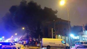 Mobilya ve tekstil fabrikalarında yangın