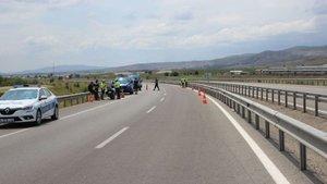 Motosikletli Rus turist dönüş yolunda öldü