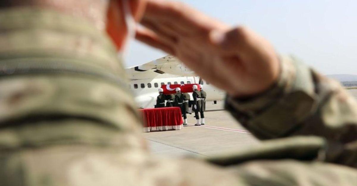 MSB acı haberi duyurdu: 1 asker şehit, 1 asker yaralı