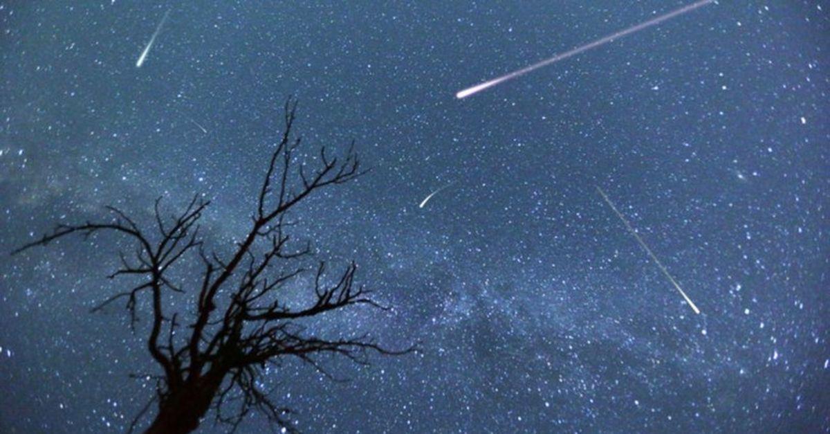 O gece gökyüzüne bakmayı unutmayın!