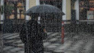 O il için kuvvetli yağış ve fırtına uyarısı