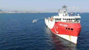 Oruç Reis'in kaptanı konuştu: