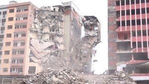 Rize'deki büyük risk yıkımda ortaya çıktı!