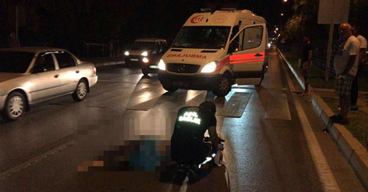 Rus turist kaza kurbanı oldu