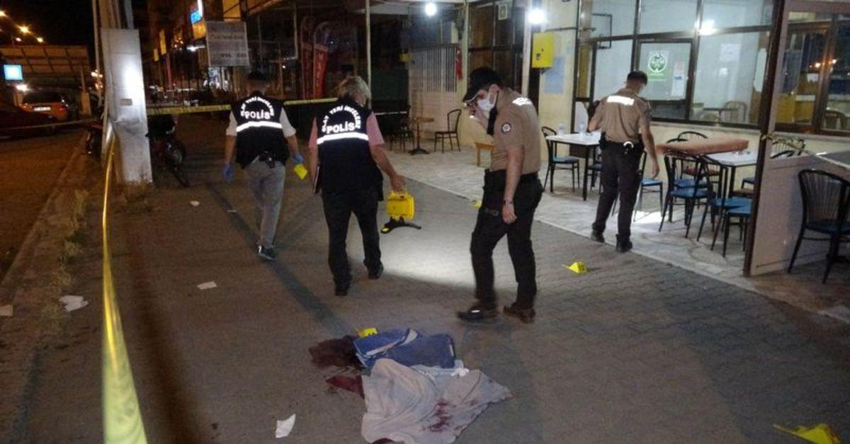 Samsun'da kahvehanede oturanlara silahlı saldırı