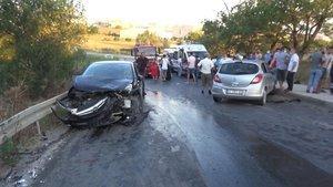 Silivri'de feci kaza: 18 yaralı!