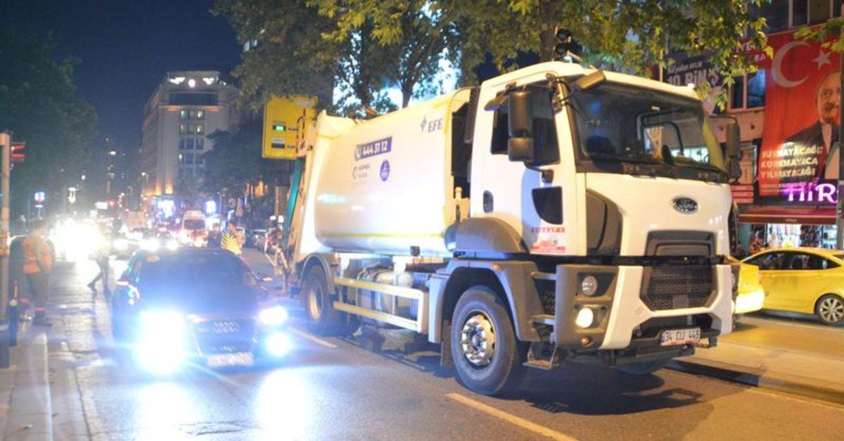 Şişli'de feci ölüm: Çöp kamyonunun altında can verdi