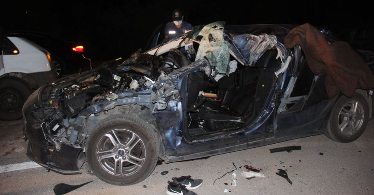Sivas'ta feci kaza: 1 ölü, 2 yaralı