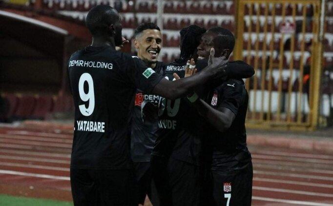 Sivasspor'da 4 isim Hatayspor maçında yok
