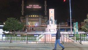 Taksim'de 1 Mayıs öncesi güvenlik önlemleri