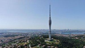 Tam 587 metre! Avrupa'nın en yükseği: Çamlıca Kulesi!