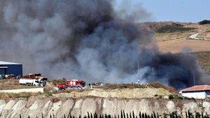 Tekirdağ'da geri dönüşüm tesisinde yangın