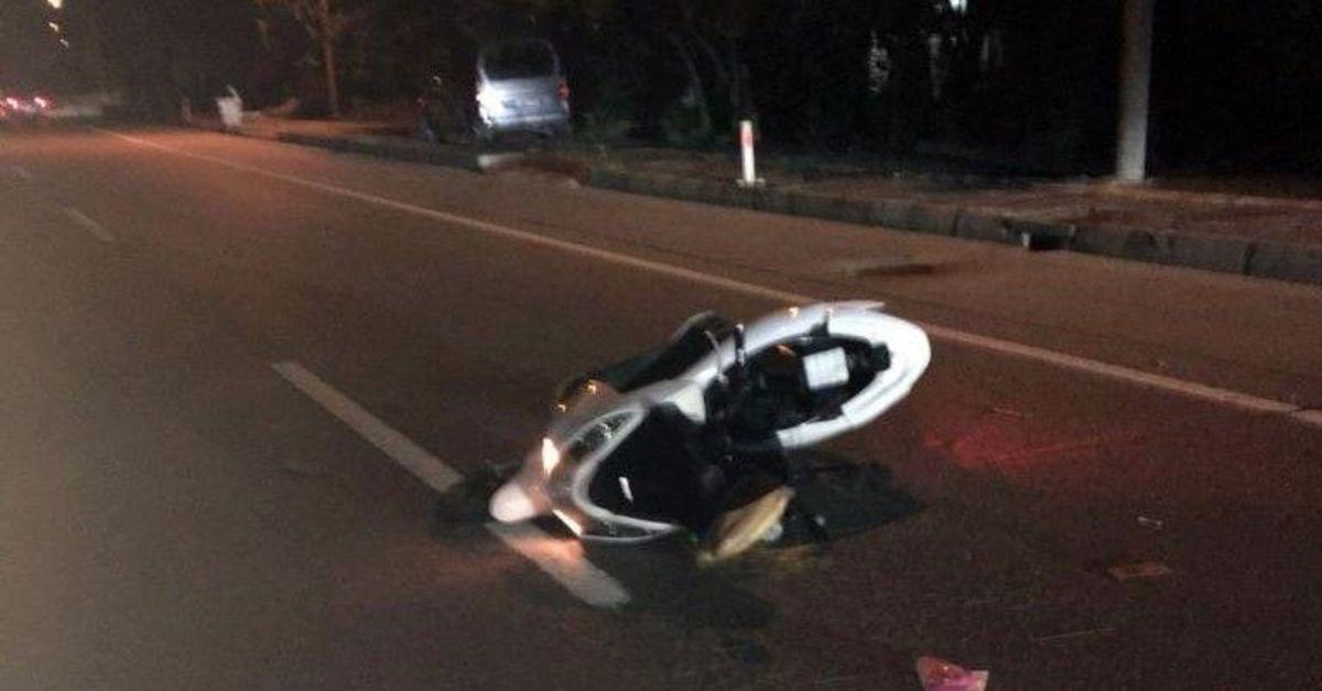 Trabzon'da otomobilin çarptığı motosiklet sürücüsü öldü