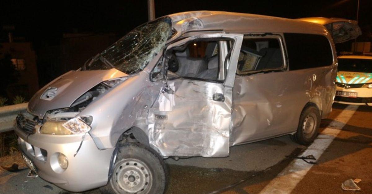 Adana'da zincirleme kaza: 9 yaralı