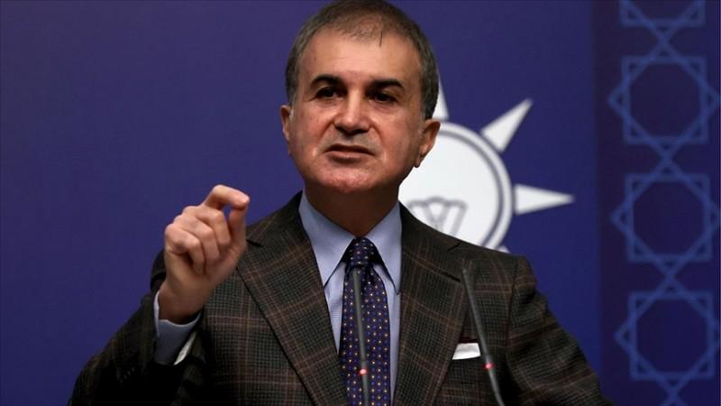 AK Parti Sözcüsü Çelik'ten ABD'ye Gara tepkisi