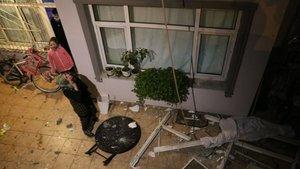 Apartman dairesinde doğal gaz patlaması