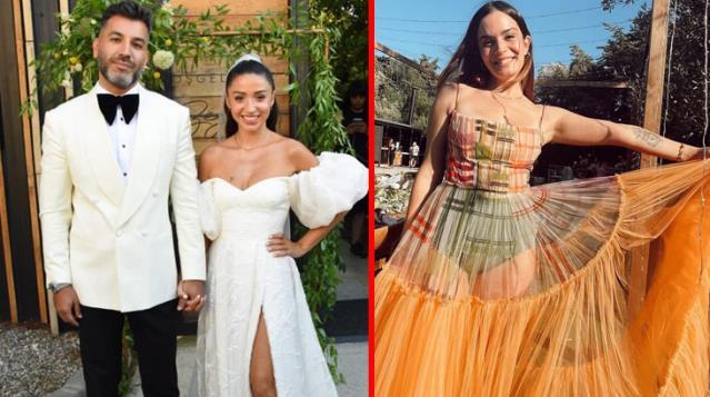 Aslı Bekiroğlu'nun Zeynep Bastık'ın düğününde giydiği kıyafetler gündem oldu