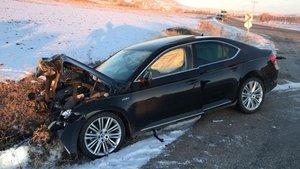 Belediye başkanının yaralandığı kazada, sürücü öldü