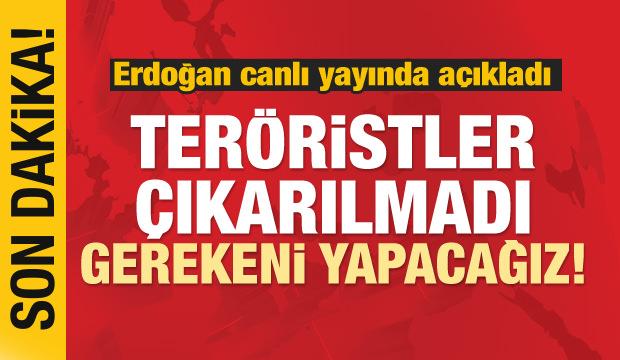 Cumhurbaşkanı Erdoğan'dan dikkat çeken açıklamalar
