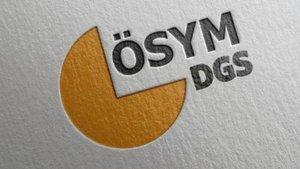 DGS sınav giriş belgeleri açıklandı
