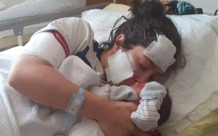 Doğum yaptıktan sonra eşi bıçakladı! Gaziantep'teki annenin durumu