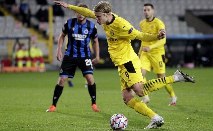 Dortmund ilk yarıda Brugge'ün fişini çekti