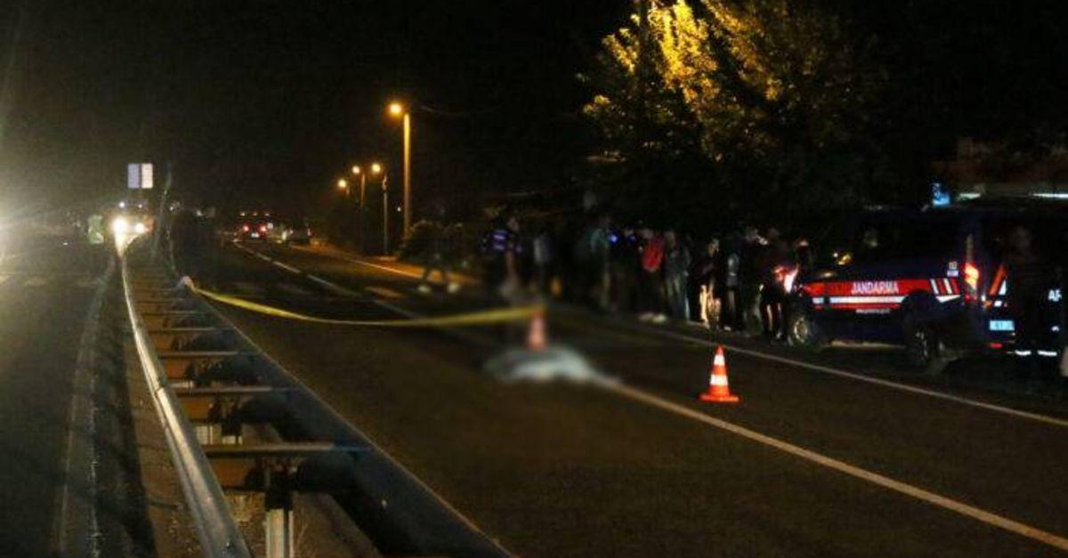 Düzce'de otomobilin çarptığı kadın öldü
