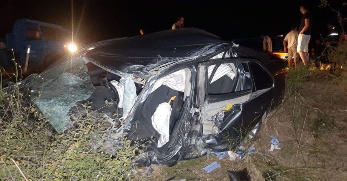 Edirne'de TIR ile otomobil çarpıştı: 1 ölü