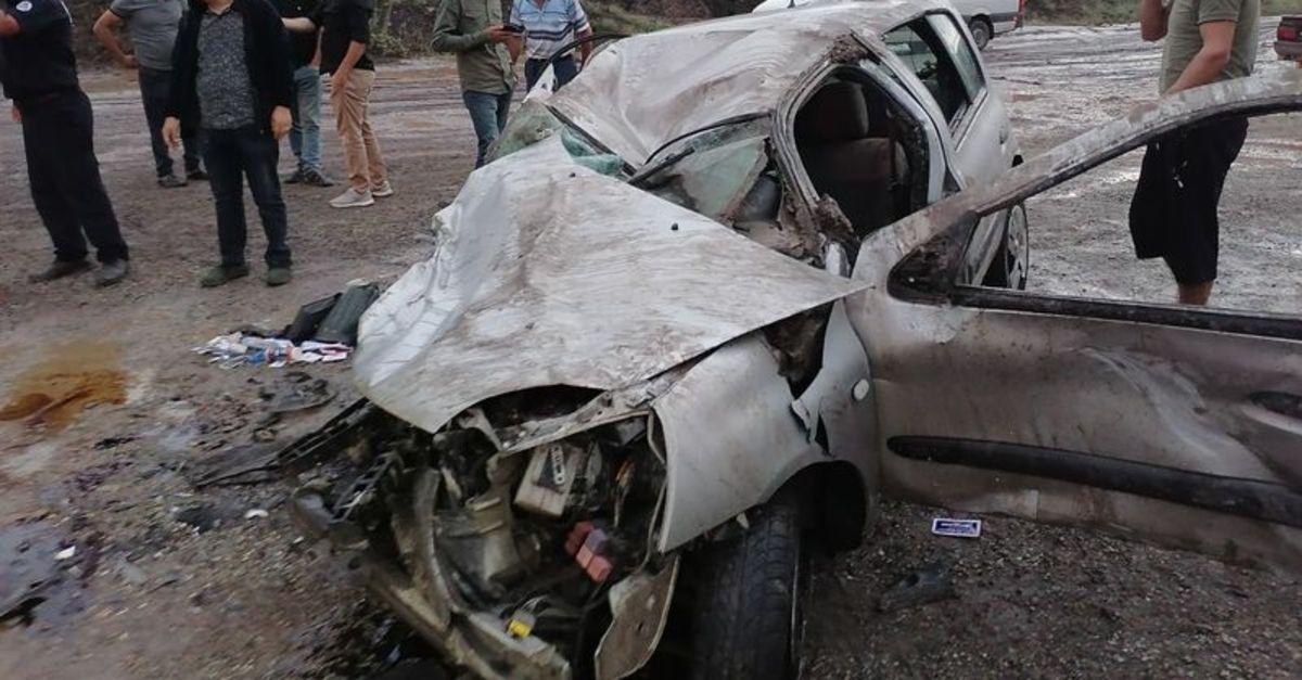 Erzurum'da sel kazaya neden oldu: 1 ölü
